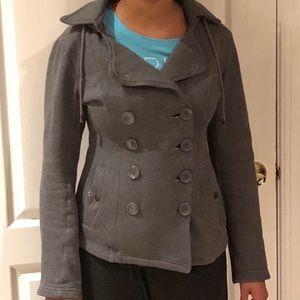 Wet Seal - hooded pea coat